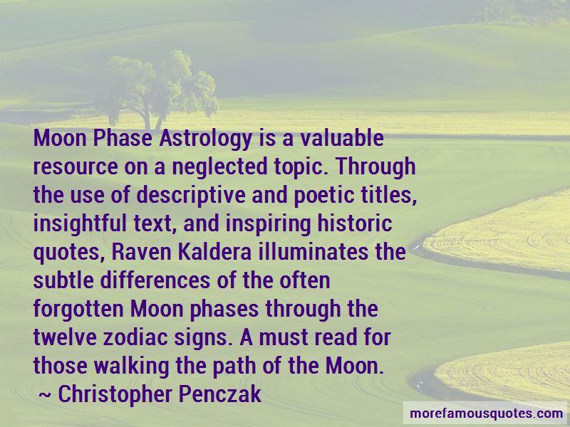 Christopher Penczak Quotes