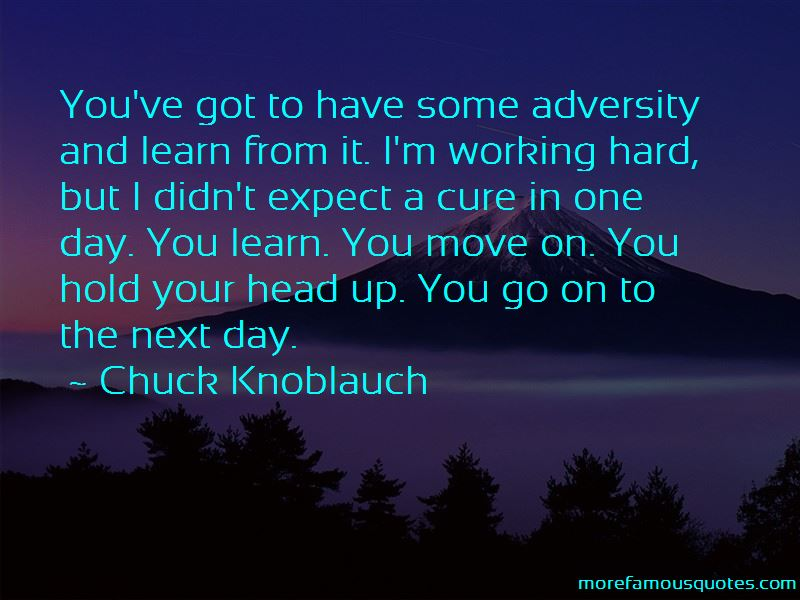 Chuck Knoblauch Quotes