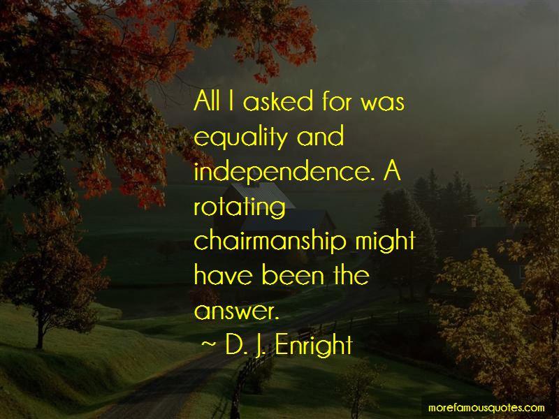 D. J. Enright Quotes Pictures 2