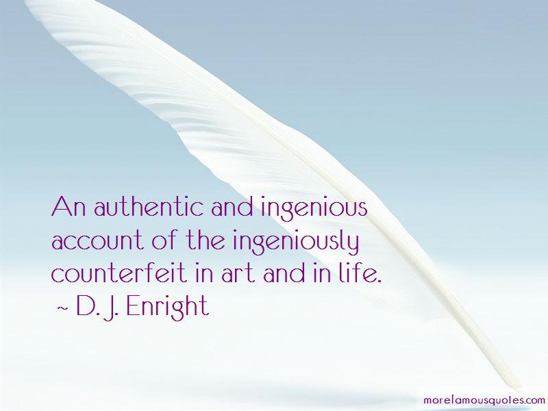 D. J. Enright Quotes Pictures 3