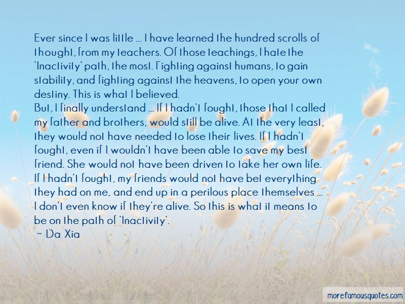 Da Xia Quotes