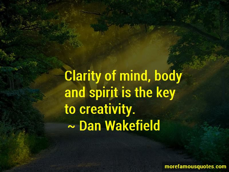 Dan Wakefield Quotes