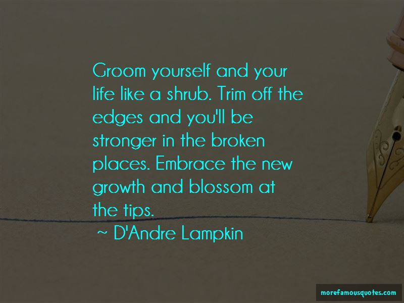 D'Andre Lampkin Quotes