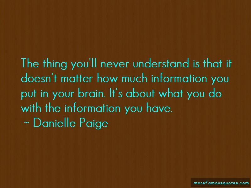 Danielle Paige Quotes
