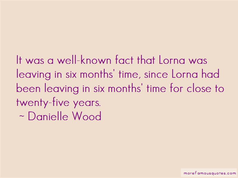 Danielle Wood Quotes Pictures 4