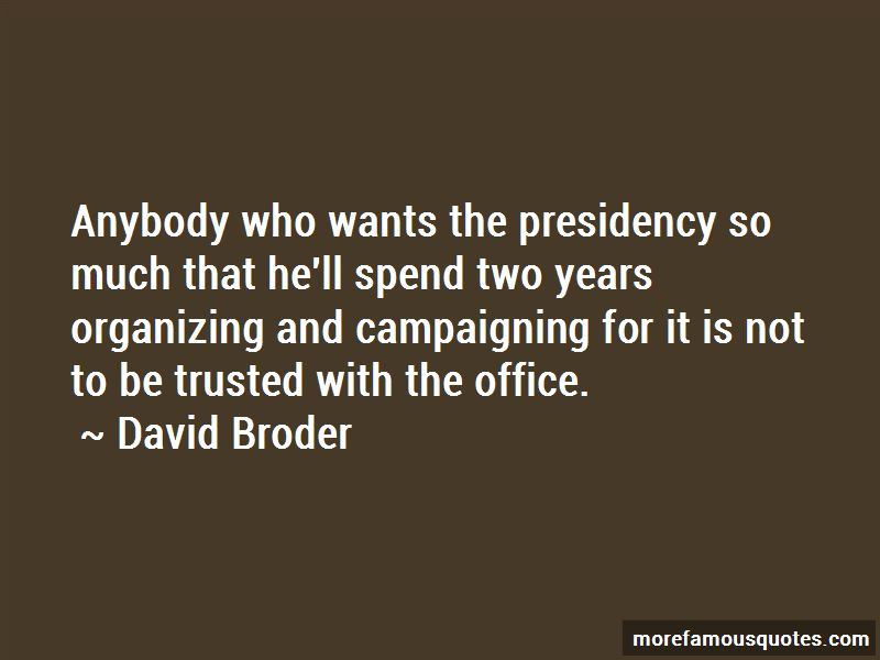 David Broder Quotes