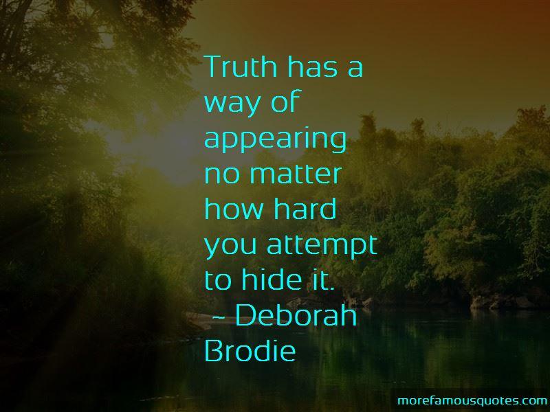 Deborah Brodie Quotes Pictures 3