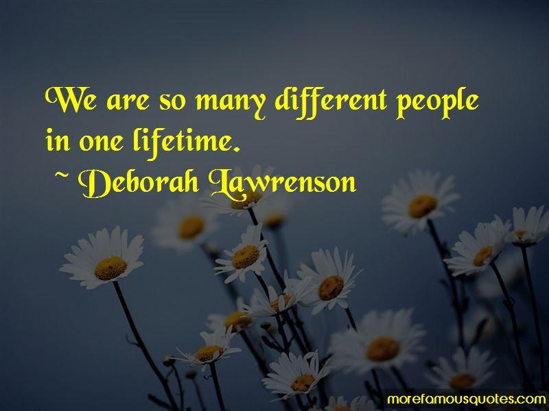 Deborah Lawrenson Quotes