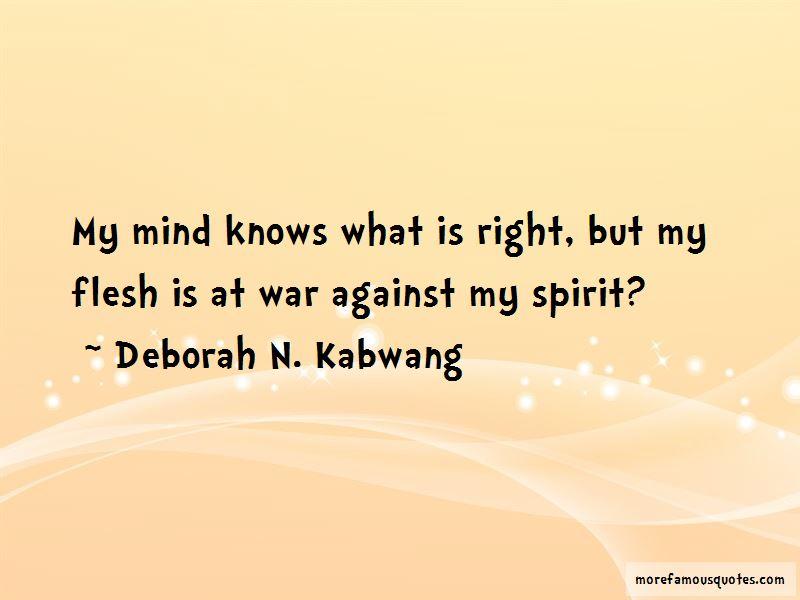 Deborah N. Kabwang Quotes Pictures 3