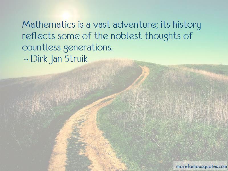 Dirk Jan Struik Quotes