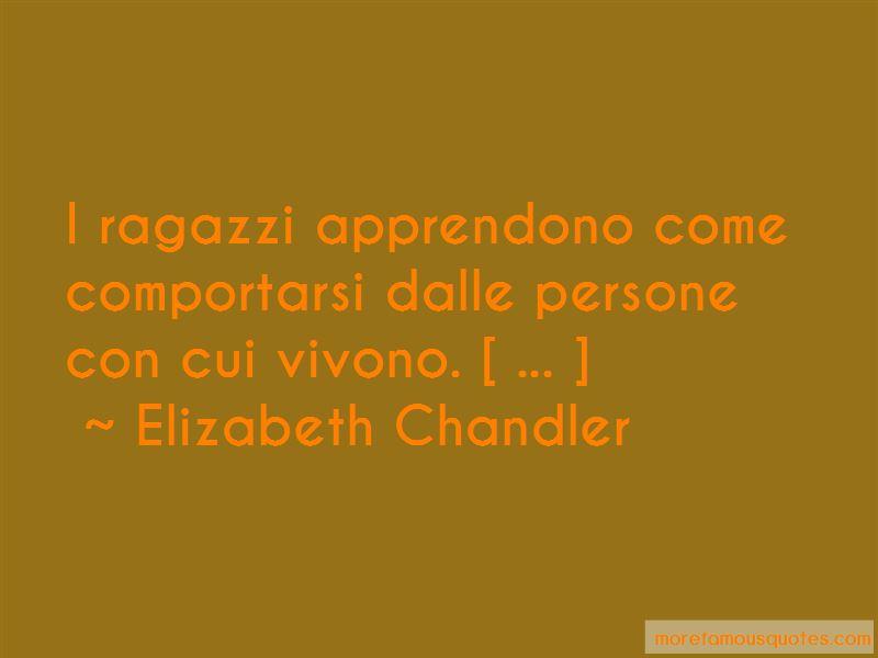 Elizabeth Chandler Quotes Pictures 4