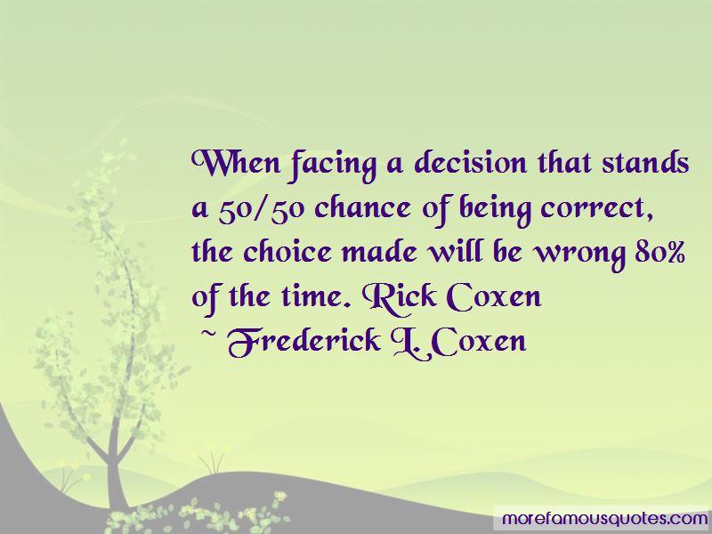 Frederick L. Coxen Quotes Pictures 2