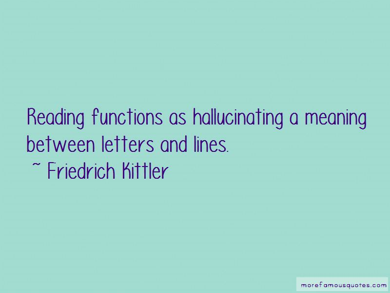 Friedrich Kittler Quotes Pictures 3