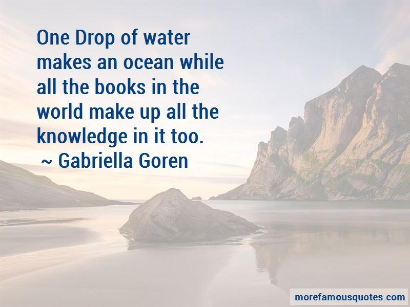 Gabriella Goren Quotes