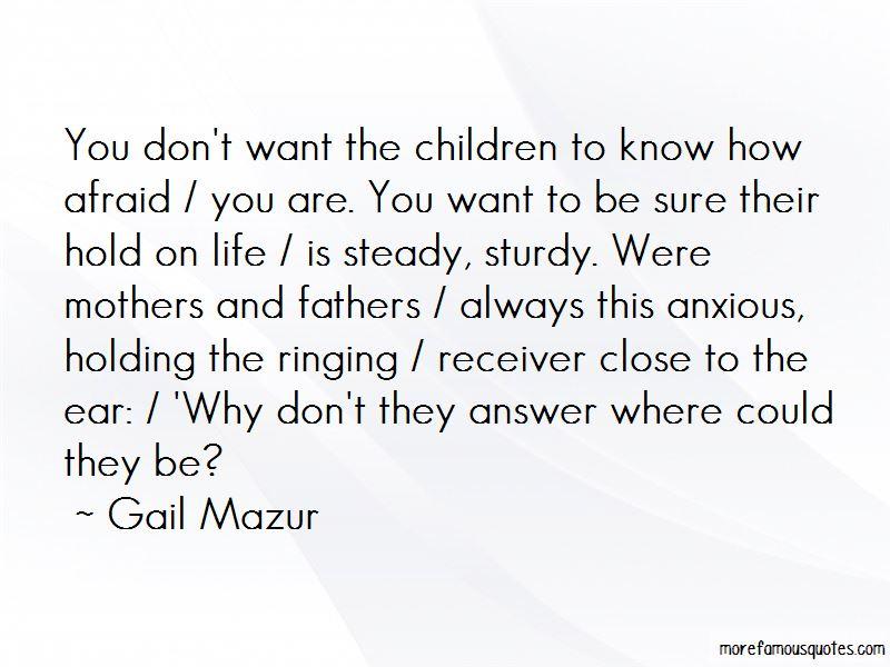 Gail Mazur Quotes Pictures 2