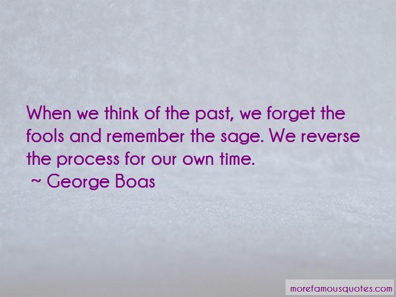 George Boas Quotes