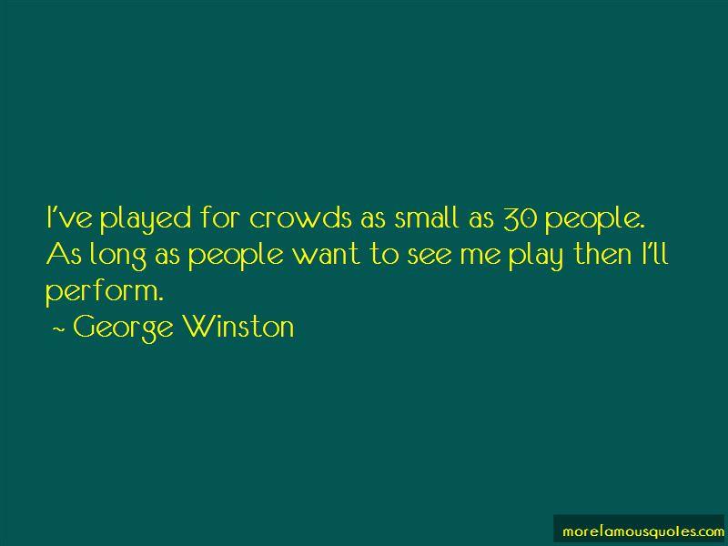 George Winston Quotes