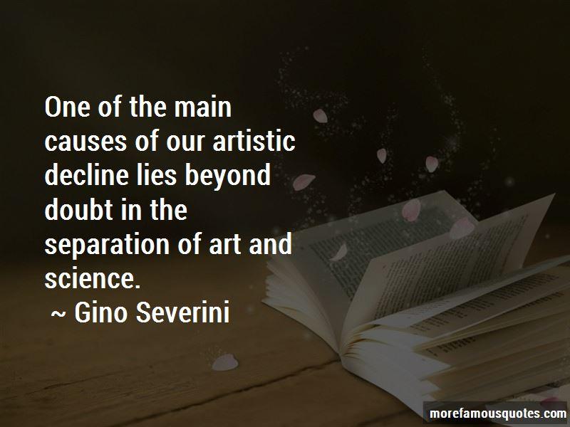Gino Severini Quotes