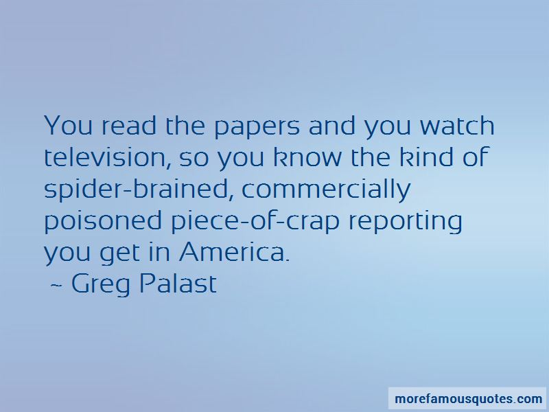 Greg Palast Quotes Pictures 2