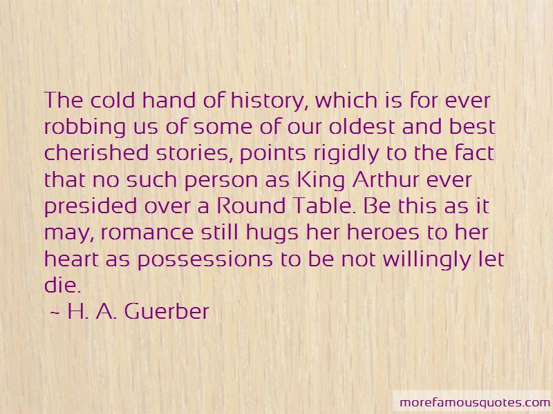 H. A. Guerber Quotes