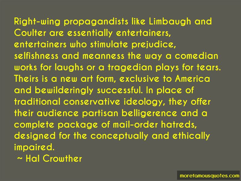 Hal Crowther Quotes