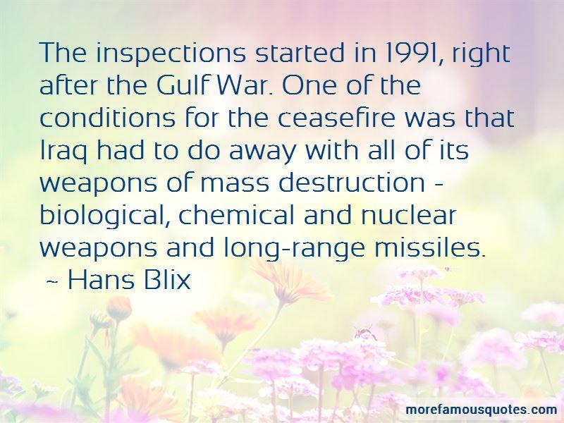 Hans Blix Quotes Pictures 2