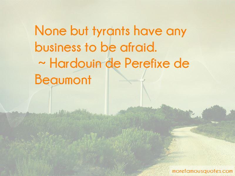 Hardouin De Perefixe De Beaumont Quotes