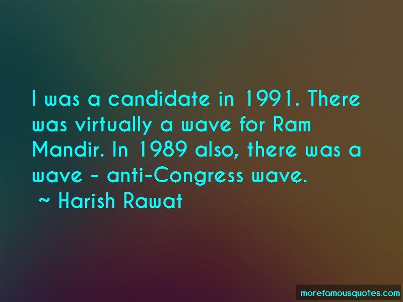 Harish Rawat Quotes
