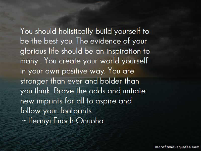 Ifeanyi Enoch Onuoha Quotes Pictures 2