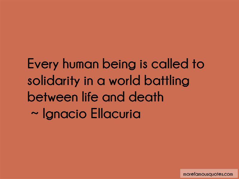 Ignacio Ellacuria Quotes Pictures 2