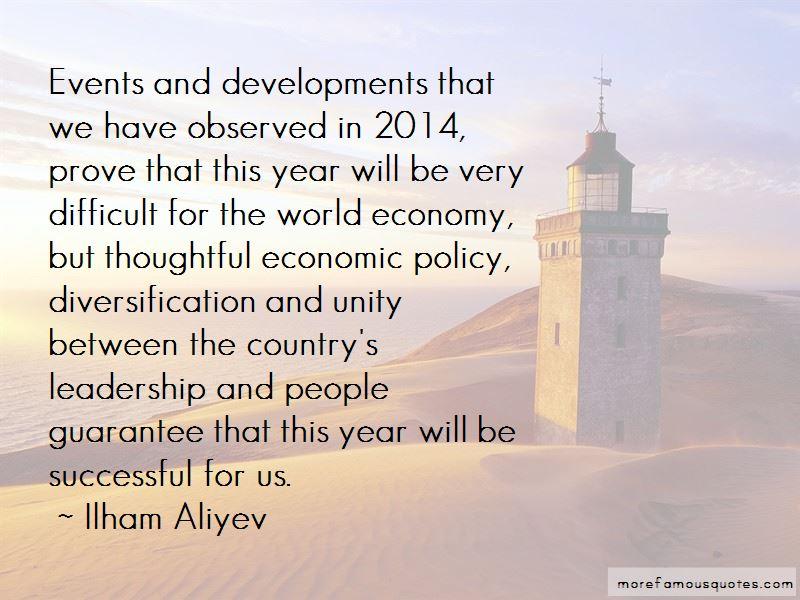 Ilham Aliyev Quotes