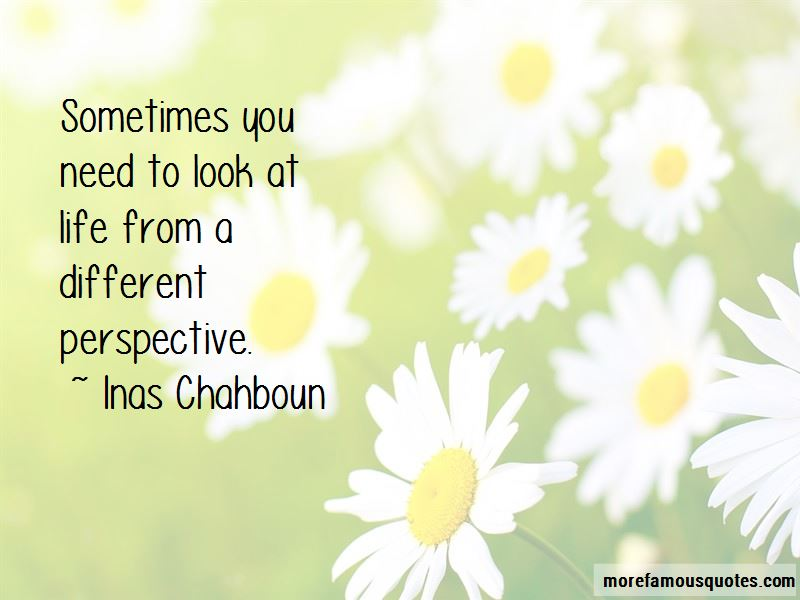 Inas Chahboun Quotes