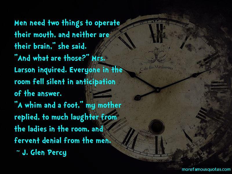 J. Glen Percy Quotes Pictures 2