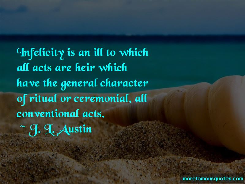 J. L. Austin Quotes Pictures 4