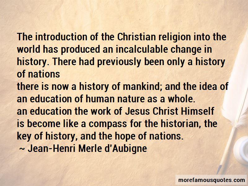 Jean-Henri Merle D'Aubigne Quotes