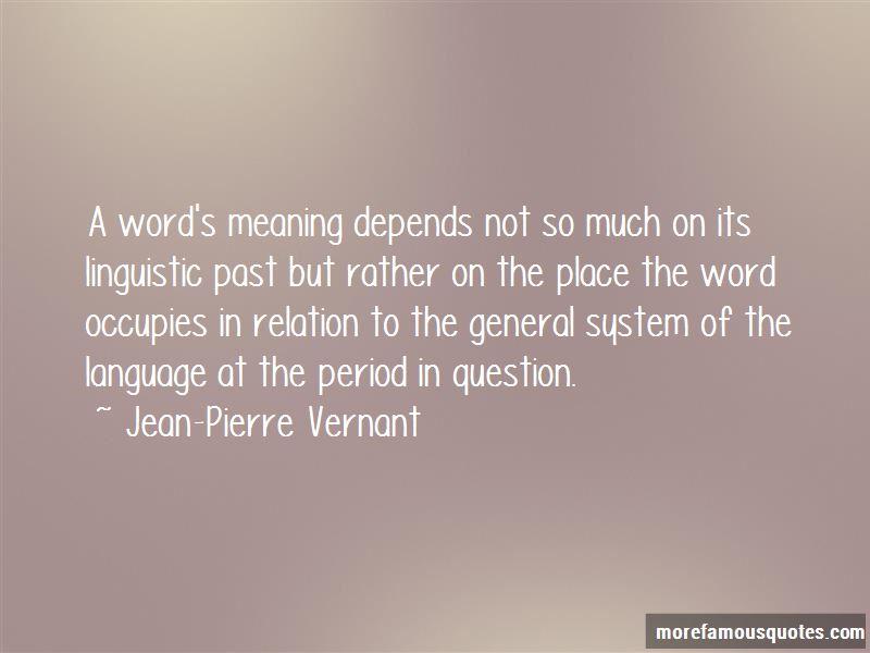 Jean-Pierre Vernant Quotes