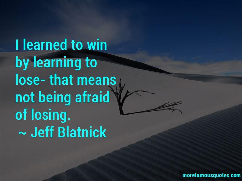 Jeff Blatnick Quotes Pictures 3