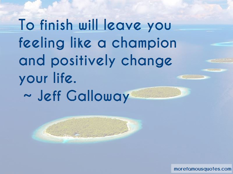 Jeff Galloway Quotes Pictures 2