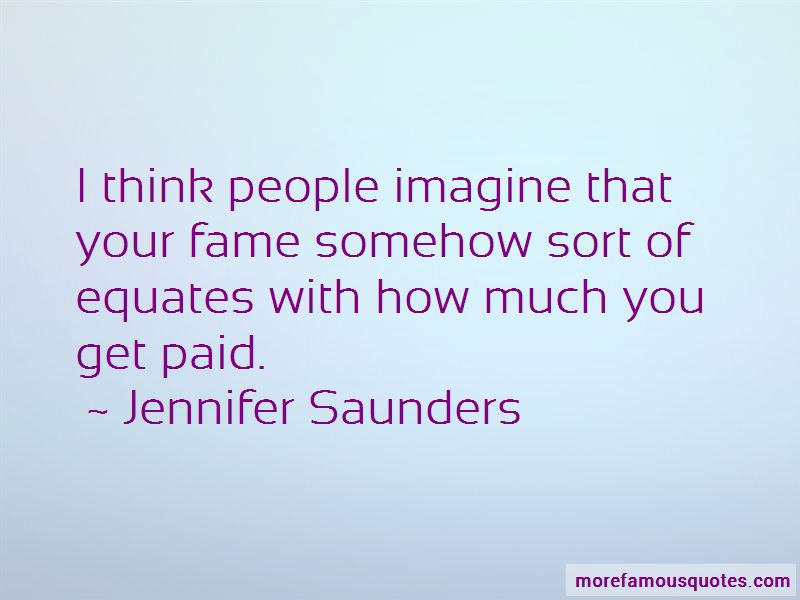 Jennifer Saunders Quotes Pictures 2