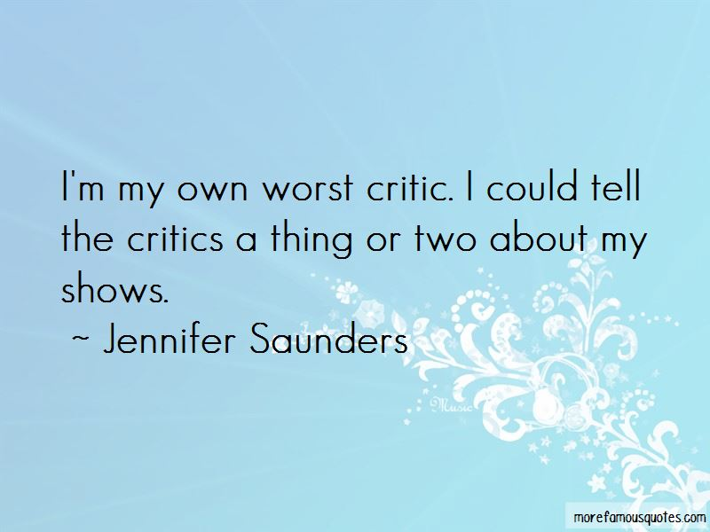 Jennifer Saunders Quotes Pictures 3