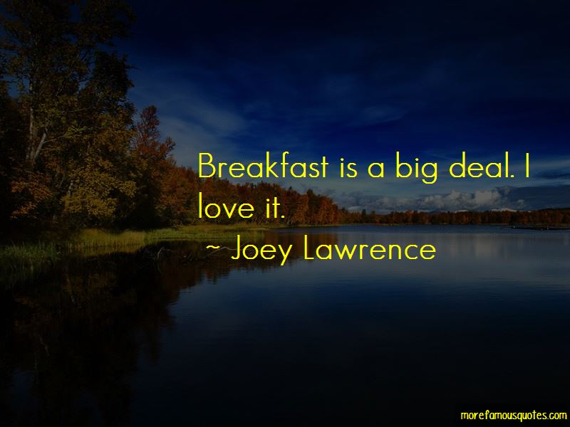 Joey Lawrence Quotes Pictures 4