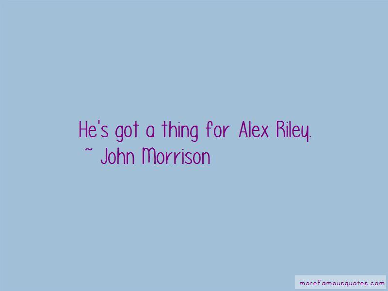 John Morrison Quotes