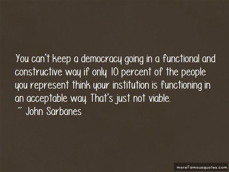 John Sarbanes Quotes
