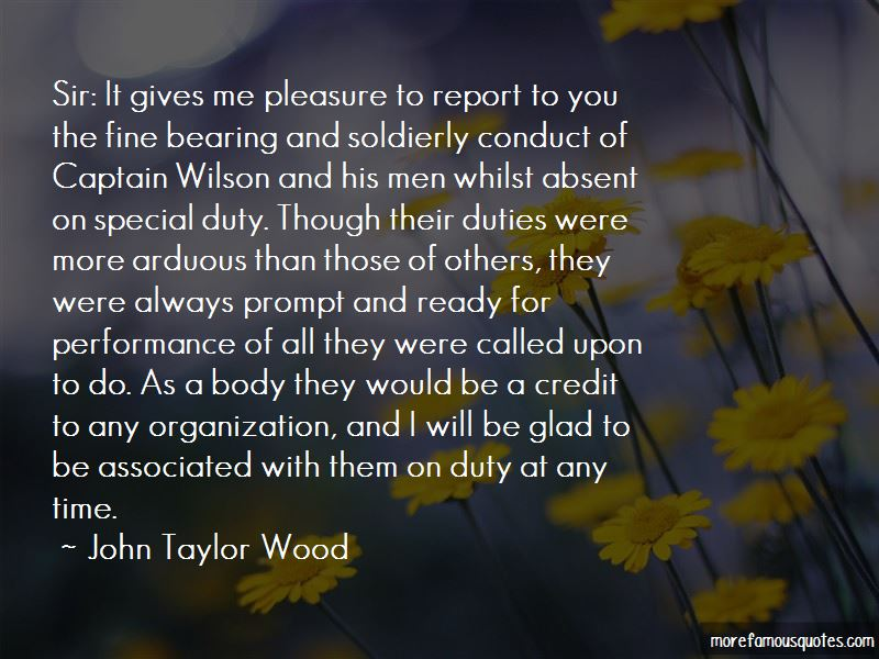 John Taylor Wood Quotes Pictures 2