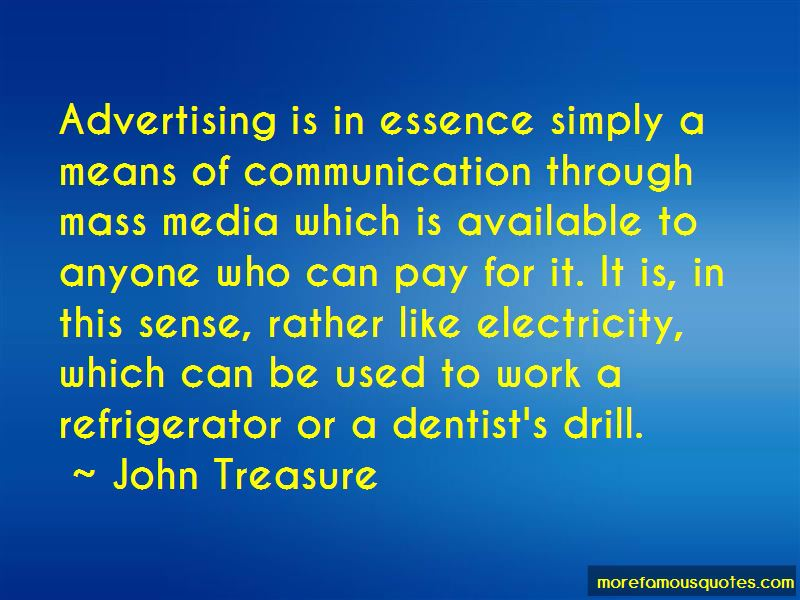 John Treasure Quotes