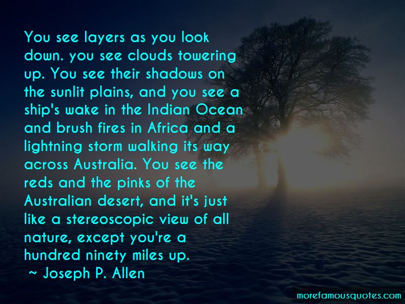 Joseph P. Allen Quotes Pictures 2