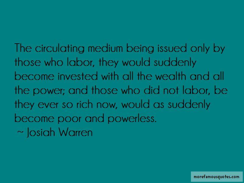 Josiah Warren Quotes Pictures 2