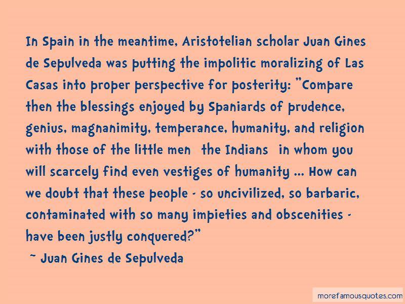 Juan Gines De Sepulveda Quotes