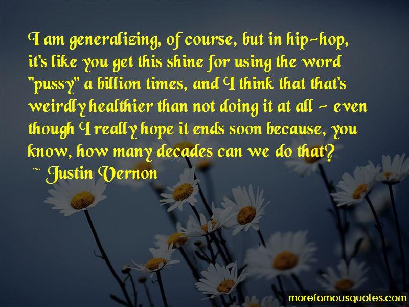 Justin Vernon Quotes Pictures 2