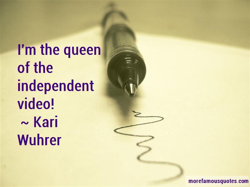 Kari Wuhrer Quotes Pictures 3